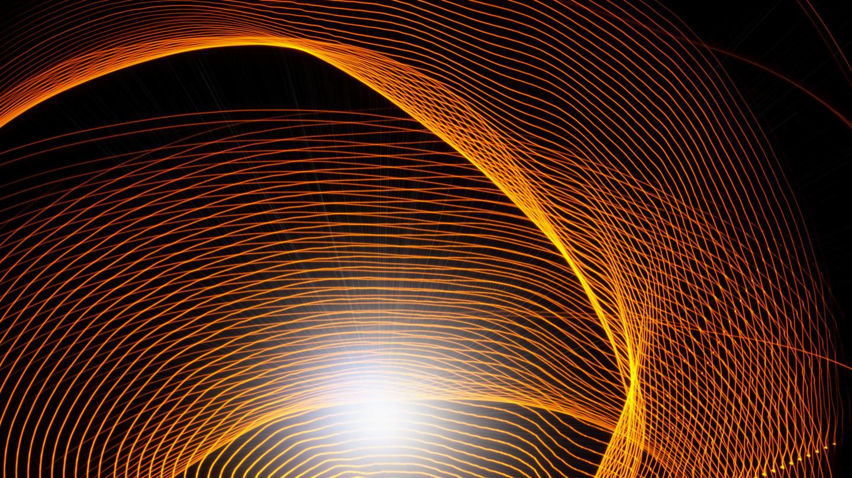 Blaise Lavenex - LIGHT PAINTING, LEVER DE SOLEIL,