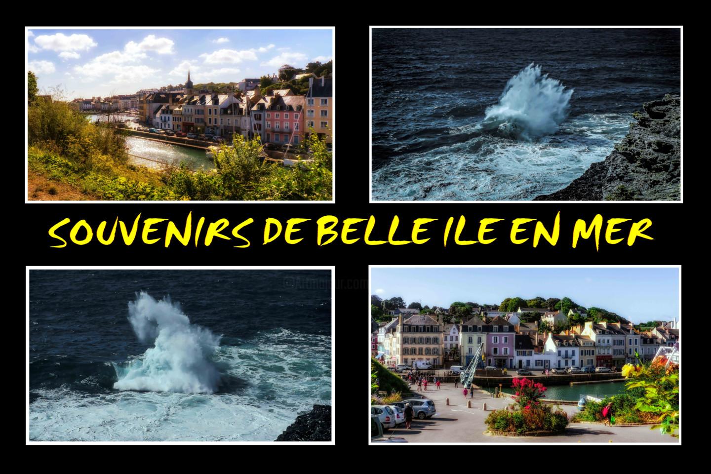 Blaise Lavenex - BELLE ILE EN MER, LE PALAIS, LE PORT COTON,