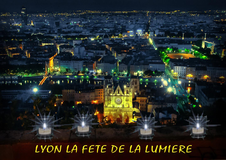 Blaise Lavenex - LYON, LA FETE DE LA LUMIERE, LE 8 DECEMBRE,