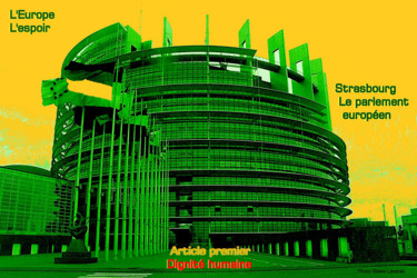 EUROPE,ARTICLE 1,STRASBOURG,LE PARLEMENT,