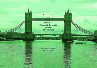 EUROPE,ARTICLE 7,LONDRES,THE TOWER BRIDGE