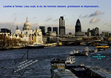 EUROPE,ARTICLE 9,LONDRES, LES CHALANDS, LA TAMISE,