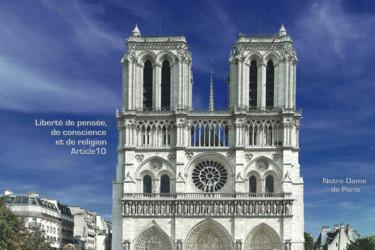 EUROPE, ARTICLE 10 BIS, NOTRE DAME DE PARIS, FRANCE
