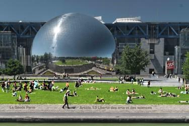 EUROPE, ARTICLE 13 BIS, LA GEODE,PARIS, FRANCE,