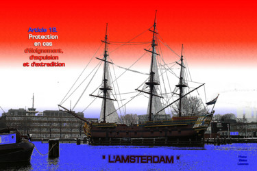 EUROPE, ARTICLE 19, LE PORT, AMSTERDAM, PAYS BAS,