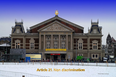 EUROPE, ARTICLE 21,CONCERTGEBOUW, AMSTERDAM, PAYS BAS,