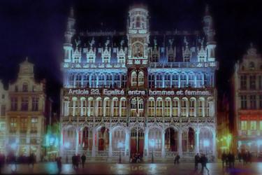 EUROPE,ARTICLE 23,LA GRANDE PLACE, BRUXELLES, BELGIQUE