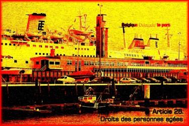 EUROPE, ARTICLE 25, OSTENDE, LE PORT, BELGIQUE,