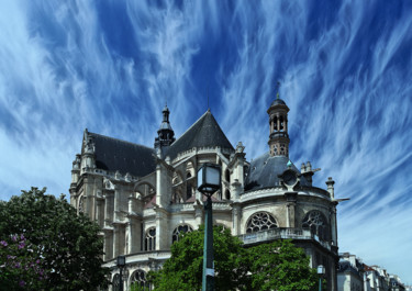 EGLISE, SAINT EUSTACHE, PARIS,