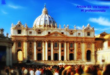 EUROPE, ARTICLE 33, ROME, LE VATICAN
